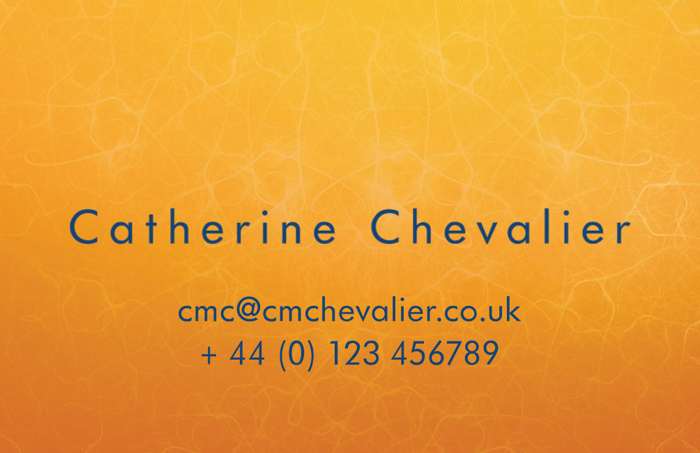 Catherine Chevalier
