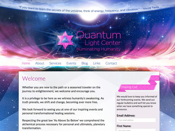 Quantum Light Center