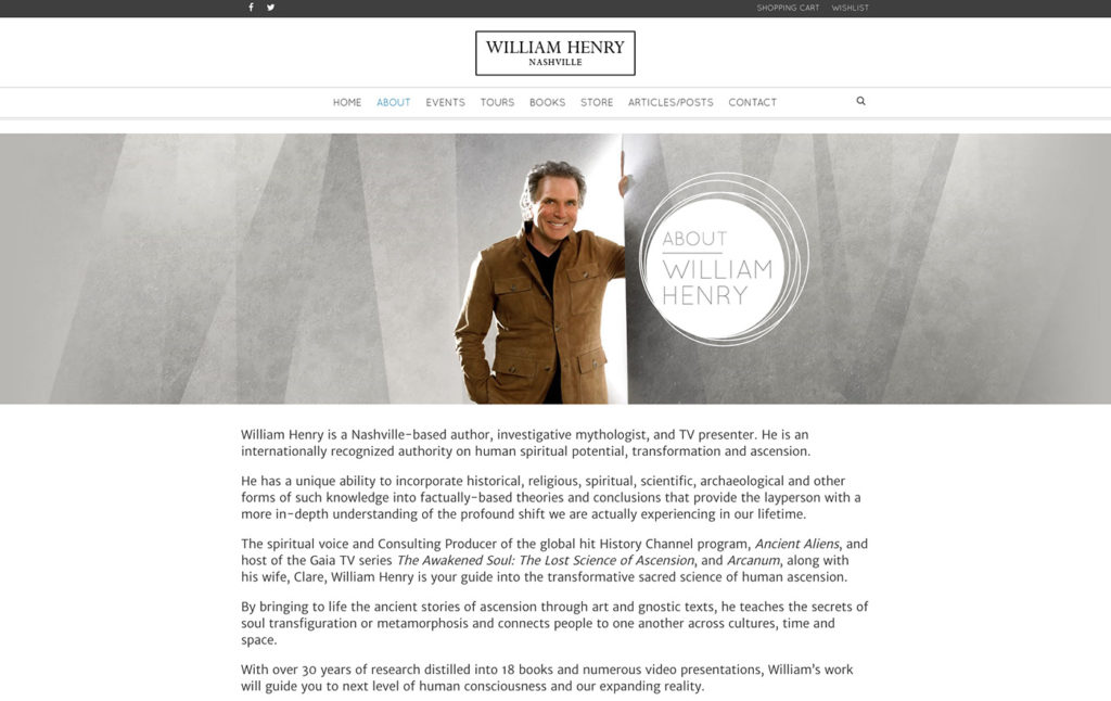William Henry Website